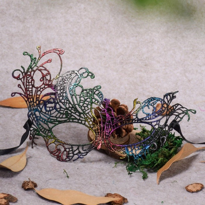 multicolor women phoenix lace sexy mask for halloween party wedding christmas masquerade masks party supplies multi