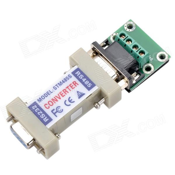 RS232 to RS485 Converter rs232 to rs485 passive interface converter adapter data communication serial 61516