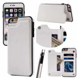 Measy PU Leather Kickstand Card Slots Case,Double Magnetic Clasp and Durable Shockproof Cover for IPHONE 6/6S