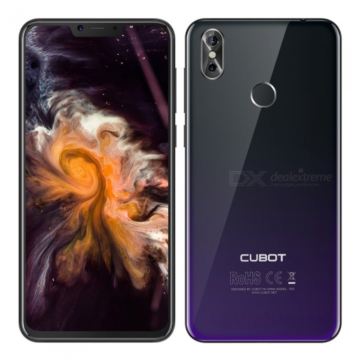 """CUBOT P20 Android 8.0 4G 6.18"""" Phone with 4GB RAM, 64GB ROM"""