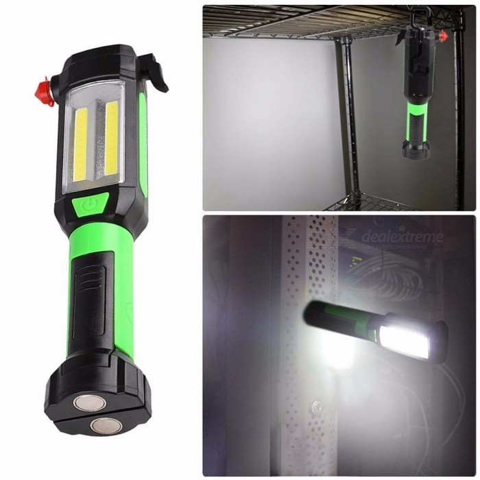 Led Lighting Rechargeable Mini Led Flashlight Plastic Torch With White Light Practical Flashlight Emergency Camping Lamp Backpack Light