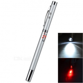 Extendable Fescue with LED Flashlight and Laser Pointer