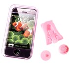 Crystal Case for iPhone (Translucent Pink)