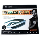 iTheatre Virtuelle Vision Video Brille mit PMP und DVB-T TV Tuner (38-Zoll-Screen-Effekt)