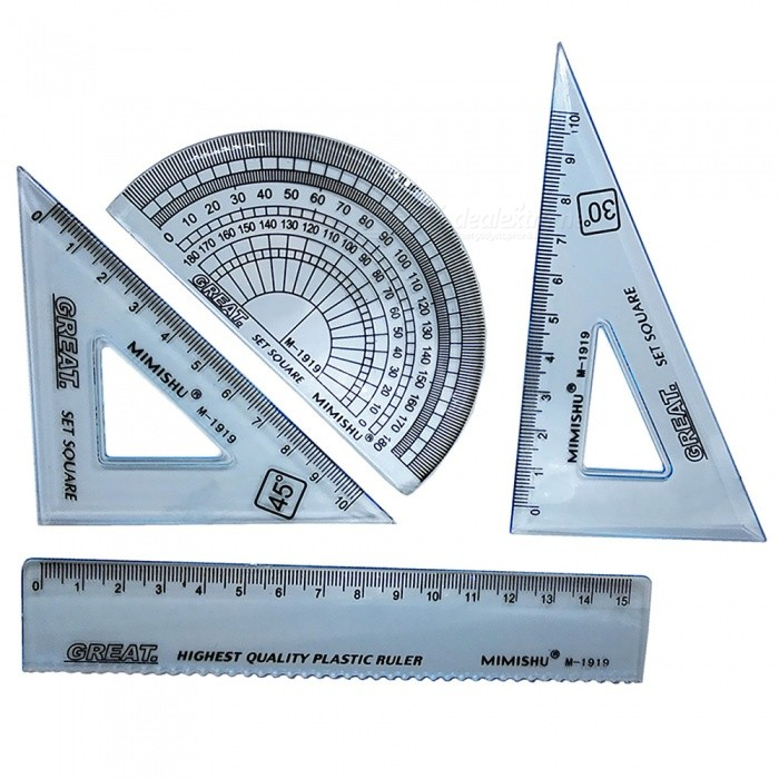 how to draw an isosceles triangle with a protractor
