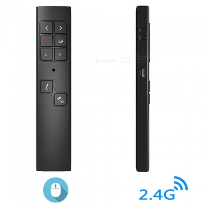 94645994e540 JEDX 2.4G RF Wireless Presenter Laser Pointer, Air Mouse PPT Presentation  Remote Control Red Light USB Flip Laser Pointer Pen - Free shipping -  DealExtreme