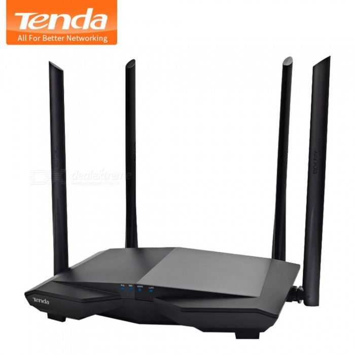 Tenda AC6 1200mbps Wireless Wifi Router Dual Band 2 4Ghz/5 0Ghz 11AC Smart  Wifi Repeater APP Remote Manage English Firmware