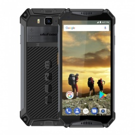 Ulefone Armor 3 5.7'' Android 8.1 Waterproof 10300 mAh Battery Global Version 4G Phone w/ 4GB RAM 64GB ROM - Black(US Plug)