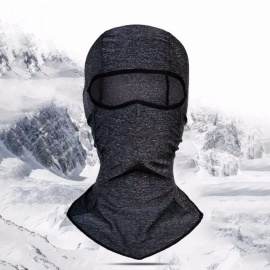 Wheel Up Summer Motorcycle Cycling Ice Silk Face Mask Breathable Windproof Outdoor Sport Anti-UV  Headgear Dark Grey