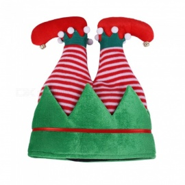 JEDX Christmas Decoration Elf Handstand Creative Hat
