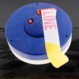 80m *5cm Box Warning Tape Safety Reflective Sticker Chinese English Warn Belt Blue