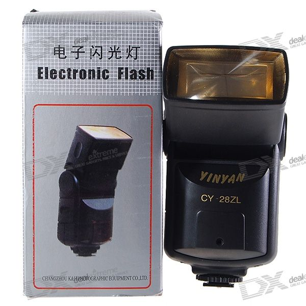 YY External Camera Flash (28m at ISO100)