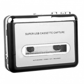 New Tape to MP3 Converter USB Retro Tape Player Cassette Player Walkman