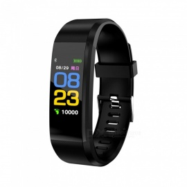 ID115Plus Smart Wrist Band, Bluetooth Bracelet with Heart Rate Monitor