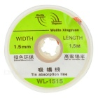 Goot Wick Soldering Remover (1.5mm x 1.5M)