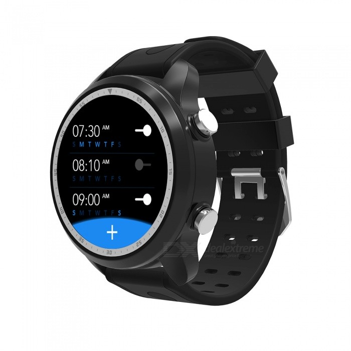 JSBP KC03 4G LTE Android Smart Watch w/ Android 6 0 OS,WIFI,GPS,Voice  Search,1GB 16GB,Heart Rate-Black
