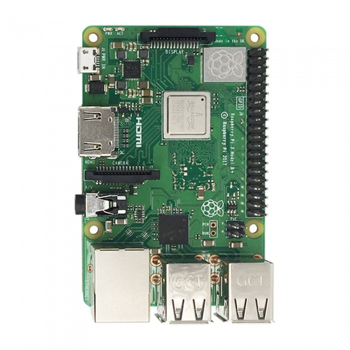 ESAMACT 2018 New Raspberry Pi 3 Model B + Raspberry Pi Raspberry Pi3 B Plus  Pi 3 Pi 3B With WiFi & Bluetooth