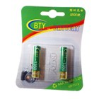 BTY 1350mAh Ni-MH AAA Rechargeable Batteries 2-Pack
