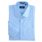 Classic Ainsley Collar No-Iron Shirts Sky Blue (Size-44)