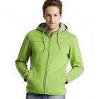 Soft Shell Hoody Tracksuit Green (Size-XXL)