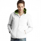 Soft Shell Hoody Tracksuit White (Size-XXL)