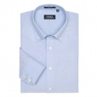 Button Down Oxford Dress Shirt Calm Blue(Size 43)