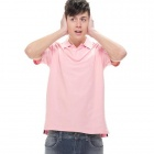 Solid Pique Light Pink (Size-XXL)