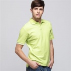 Solid Pique Apple Green (Size-XXL)