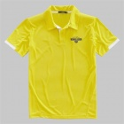 VANCL Wimbledon Tennis Jersey (Mens) Yellow (Size-XXL)