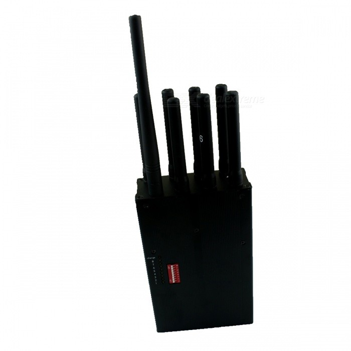 Power Portable Wifi And Lojack Cell Phone Signal Jammer EU Plug
