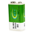 BTY 280mAh Ni-MH 9V Rechargeable Battery