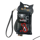 Cute Animob Kitty Cat Leather Bag for Cell Phone and Gadgets