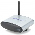 2.4G Wireless AV Sender & IR Remote Extender - Silver