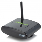 2.4G Wireless AV Sender & IR Remote Extender (Black)