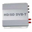 H.264/MPEG-4 DVB-T High Speed HD/SDTV Receiver Digital Television Box (Silver)