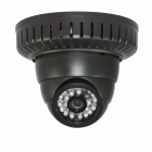 H.264 1/3 Pixel Color CCD Dome IP CCTV Camera w/ 22-IR LED Night-Vision