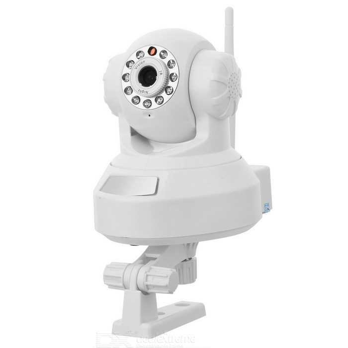 300KP Network Surveillance IP Wireless Camera with 11-LED IR Night Vision/Microphone/Speaker thumbnail