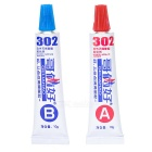302 Two-Component Acrylate Adhesive (5-Minute A+B Glue)