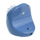 "2.4GHz Wireless 8-LED Night Vision Camera with 2.4"" LCD Handheld Baby Monitor - Blue"