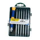 12-Tip 6-Piece Set Precision Screw Drivers