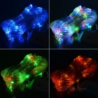 120-LED 1.4x1.3M Net Style Christmas Light (8-Mode Multi-color RGB LED 110V AC)