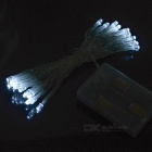 30-LED 3M Battery Powered Christmas Light (White LED 3xAA)