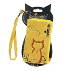 Cute Animob Kitty Cat Velvet Bag for Cell Phone and Gadgets