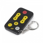 2-in-1 Mini Flashlight and Universal TV Remote Controller Keychain