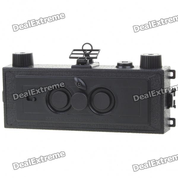 3D Twin Lens Film Camera DIY Assembly Kit