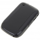 Protective PVC Case for Blackberry 8520 (Black)