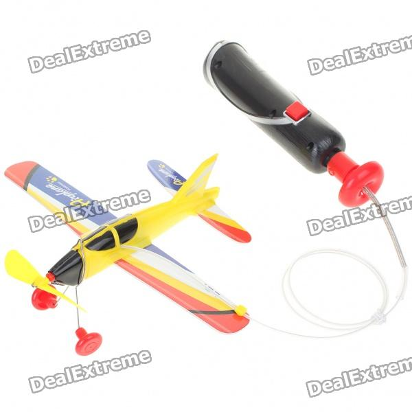 Handheld Control Wired Rotary Airplane (4 x AA)