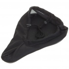 Bicycle Cushion Bike Saddle Pad Seat Cover - Black