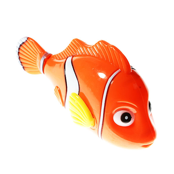 Spring Loaded Swimming Fish Bathtub Toy Free Shipping