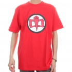 The Big Bang Theory Series The Greatest American Hero Style Cotton T-shirt - Red (Size XL)